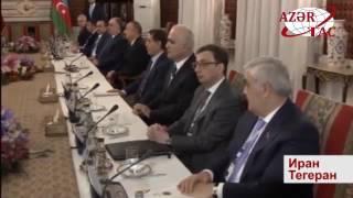 Состоялись переговоры президентов Азербайджана и Ирана в расширенном составе