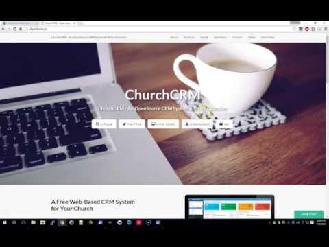ChurchCRM Installation Demo Video