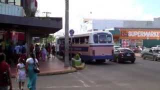Nadi Fiji  City new picture : Nadi-Fiji-Street View-Bus & Traffic-Viti Levu-Main Island of Fiji