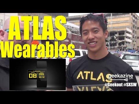 SXSW 2014: Atlas Wearables Fitness Tracker