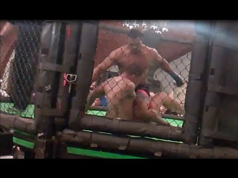 Real MMA Fights Youngstown Ohio 2014 – self defense fighting app shows tips to win a street fight.