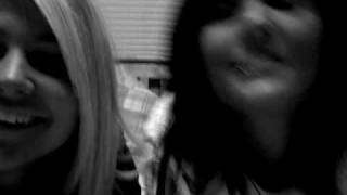 YESSSS! me and my friend katlyn being awesome one wednesday night :)