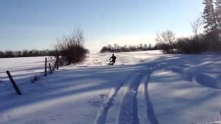 10. 2012 polaris pro rmk ripn the ditch up