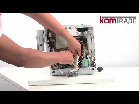 Jura ENA-Serie Antrieb-Getriebe-Motor ausbauen-ersetzen-tauschen-einbauen