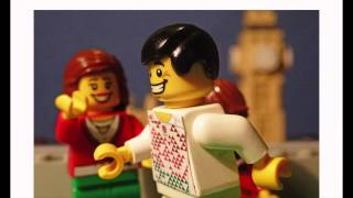 'Team Home' England Sevens 'Home' or 'Away' race to Twickenham in Lego!