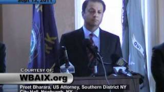 Newburgh (NY) United States  city photos : Press Conference, US Attorney, Newburgh, NY