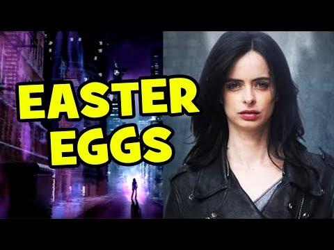 JESSICA JONES Easter Eggs & Things You Missed
