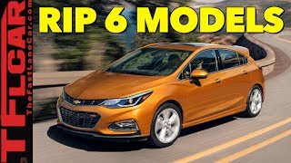 Breaking News: These Are The 6 Cars That GM Killed Today! by The Fast Lane Car