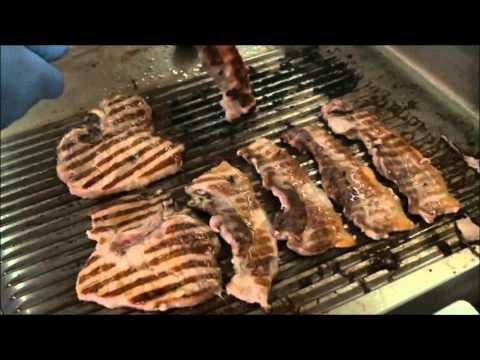 Cottura alla griglia in bassa temperatura - Griglia elettrica