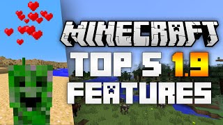 Minecraft 1.9 Update: This is my Top 5 features for the Minecraft 1.9 update, the first release of the Combat Update.Be sure to support the video with a like if you enjoyed it!Share your favorites mods in the comment section!Welcome to my new Minecraft 1.9 video, where I showcase my top 5 minecraft 1.9 features, also known as the best upcoming features for the Minecraft 1.9 update. In this Top 5 Minecraft 1.9 Features  video, I feature the best Minecraft additions and my top 5 Minecraft features 1.9! Best features for Minecraft 1.9. Subscribe for more :)Source: http://minecraft.gamepedia.com/1.9Music by Vexento: https://www.youtube.com/user/Vexentohttps://soundcloud.com/vexentoSubscribe for more Top 10s: http://bit.ly/TopTenMC