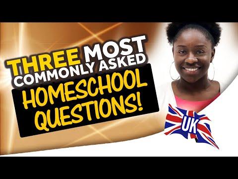 Three most common homeschool questions (видео)
