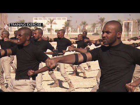 War on ISIS: Rare look at training to stop Saudi-born terrorists