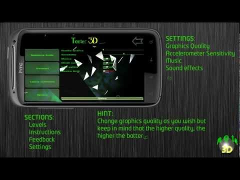 Video of Teeter 3D free (old devices)