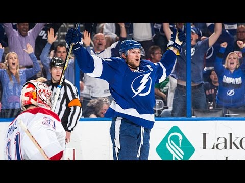 Video: Stamkos blasts shot past Price off turnover