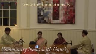 Apoorva Gokhale and Pallavi Joshi at Shadaj Baithak event (part 1)