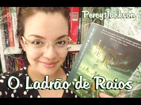 """Livro - O Ladrão de Raios """"Percy Jackson #1"""" (Rick Riordan)"""