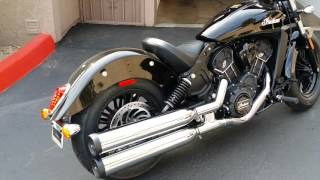 9. 2016 Indian Scout Sixty