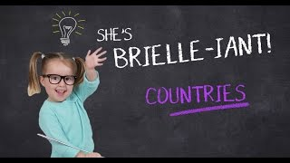 Brielle, Ellen's periodic table expert is back and now taking on world countries. Are you ready to learn a thing or two from this ...