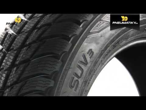 Youtube Nokian WR SUV 3 235/75 R15 105 T Zimní
