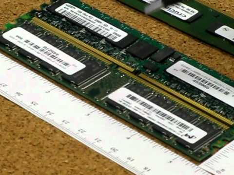 ddr1 - In order to buy the correct memory module for your system it is helpful to know the difference and properly identify your existing memory. This video shows s...