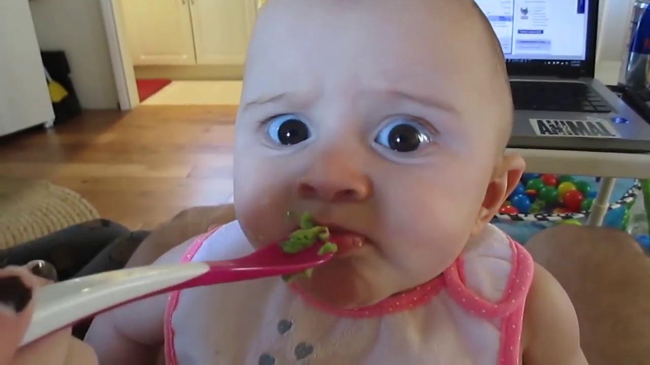 Beba ne voli avokado – da pukneš od smeha