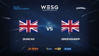 DUNCAN vs greensheep, game 1