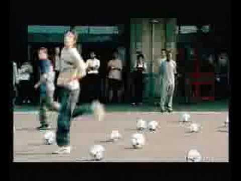 Adidas Soccer Commercial - Beckham, Zidane, Del Piero e Klui