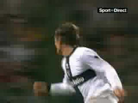 Gol con la camiseta del Parma