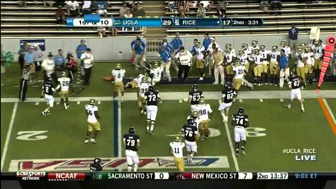 Anthony Barr vs Rice (2012)