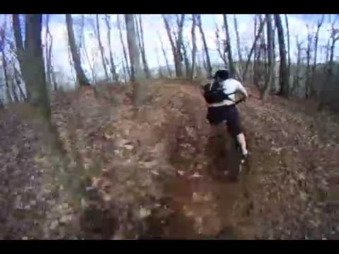 Mountain Biking at ACE via Helmet Cam