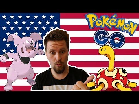 POKEMON GO - GEN 2 | ÅKER TILL USA - Shuckle & Granbull evolve