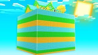 Minecraft - 4-Noobs Waste A Billion Dollars in Skyblock | JeromeASF