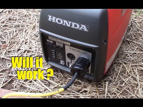 Will a Honda eu2000i inverter/generator power a 12,000 cooling BTU window AC?