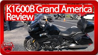 3. 2018 BMW K1600B Grand America Review