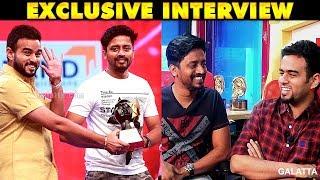 Video Naan Sarakku, Ivan Soda - Mirchi Sha and Mirchi Vijay Super Fun Interview | Galatta Exclusive MP3, 3GP, MP4, WEBM, AVI, FLV Oktober 2018