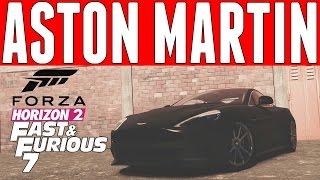 Nonton Forza Horizon 2 Fast & Furious 7 Car Build : Jason Statham/Ian Shaw's Aston Martin