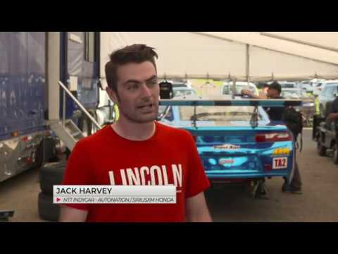TA2 Driver Misha Goikhberg Gets Confidence Boost from IndyCar Driver Jack Harvey