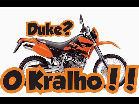 Canal do Coruja - KTM 640cc - Duke 200 é pra princesos - Motovlog Comic