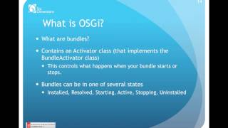 Watch the OSGi v. JSPs Webinar