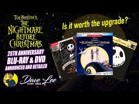 THE NIGHTMARE BEFORE CHRISTMAS: 25th Anniversary Edition - Blu-ray, DVD Announced & Detailed