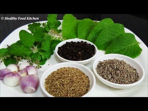 Home Remedies for Cold-Cough & Asthma-Natural Home Remedies for Cough & Cold By Healthy Food Kitchen