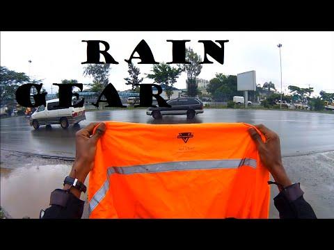 How Bikers Cope with the Rain: My Rain Gear
