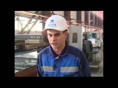 Видеорепортаж сновой площадки судостроительного завода «Пелла»