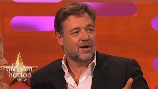 Russell Crowe on Acting Toothless - The Graham Norton Show