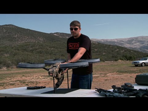 FPS Russia - Prototype Quadrotor With Machine Gun