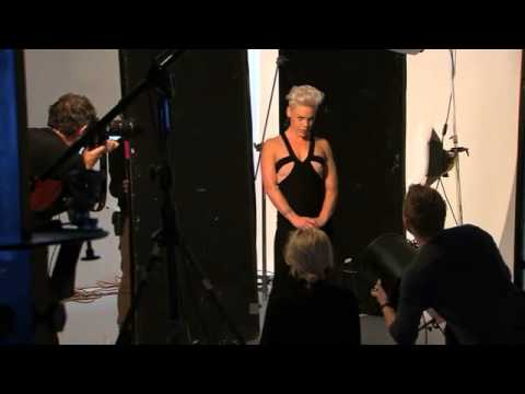 Behind The Scenes: P!NK Cover Shoot (Sept 2013)