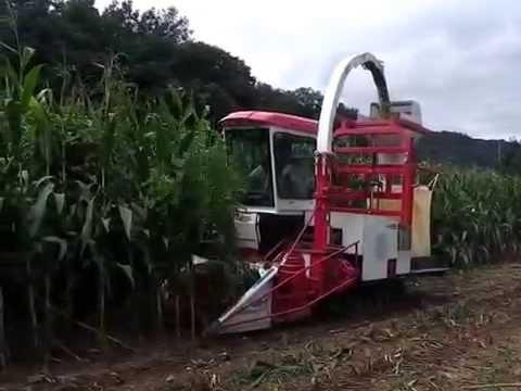 라이브맥 자주식사료작물수확기 LCH2 T - (주)라이브맥