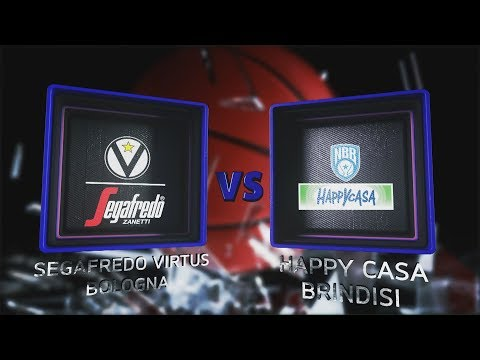 Virtus, gli highlights del match contro l'Happy Casa Brindisi