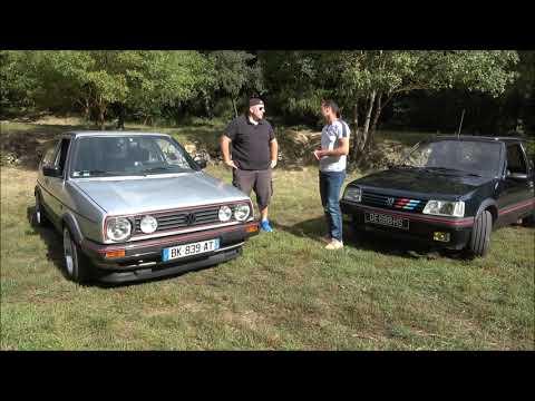 Reportage Golf 2 GTI dans Passion Auto Sport Du Var