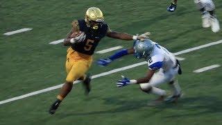 http://FootballHotbed.com  St. Thomas Aquinas dismantles Dillard 39-0 in its preseason kickoff classic Thursday.